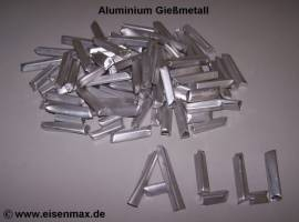 001 Aluminium Gießmetall zum Aluminiumgießen - Bild vergrößern