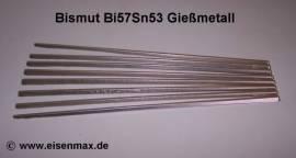 034 Gießmetall Bi57Sn43 - Bild vergrößern