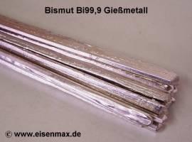 004 Bismut Bi99,9 als Dreikantstange - Bild vergrößern