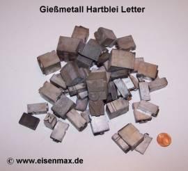 033 Hartblei Letterbuchstaben - Bild vergrößern