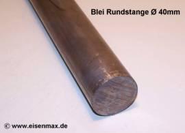 040 Bleiprofil Vollstange rund ø 40 - 100 mm - Bild vergrößern