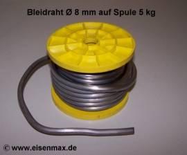 508 Bleidraht ø 8,0 mm auf 5 kg Spule - Bild vergrößern