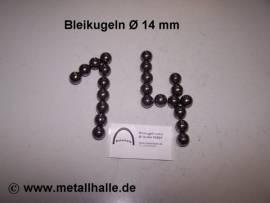 140 Bleikugeln ø 14 mm - Bild vergrößern