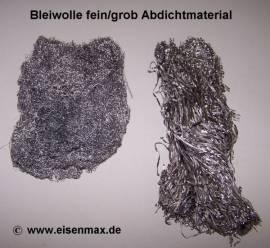 002 Bleiwolle fein 0,35 mm Mauerwerksabdichtung - Bild vergrößern