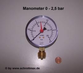 003 Manometer 2,5 bar - Bild vergrößern