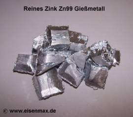 001 Reinzink Zn99 zum Gießen - Bild vergrößern