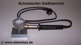 101 Gießheinrich Schmelzofen Gießofen für Zinn - Bild vergrößern