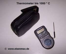 010 Digitalthermometer bis 1000 Grad - Bild vergrößern