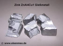 021 Zink ZnAl4Cu1 zum Gießen - Bild vergrößern