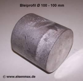 021 Bleischeibe Ø 100 - 100 mm - Bild vergrößern