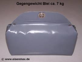 307 Bleigewicht ca. 7 kg Bleiprofil eingenäht in Plane - Bild vergrößern