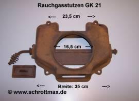 030 Rauchgasstutzen für Heizkessel GK21 - Bild vergrößern