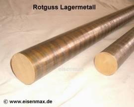 017 Rotguss Rg7 Vollstange Rund ø 17-500 mm - Bild vergrößern