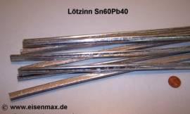 206 Weichlot Sn60Pb40 Dreikantstange
