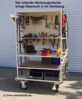 Werkzeugkutsche Max 520 XXL Spezial Edition rollbar