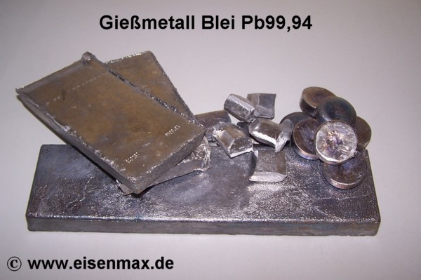 bleibarren gie metall 5 kg st cke im shop eisenmax g nstig. Black Bedroom Furniture Sets. Home Design Ideas