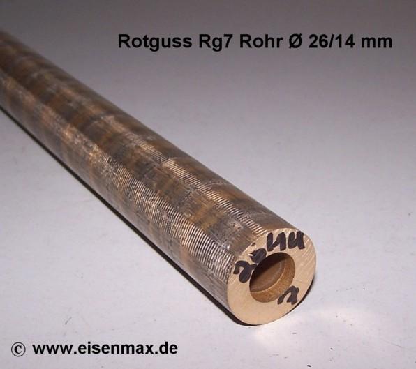 rotguss rohr f r buchsen und lager 26 14 500 mm g nstig im. Black Bedroom Furniture Sets. Home Design Ideas