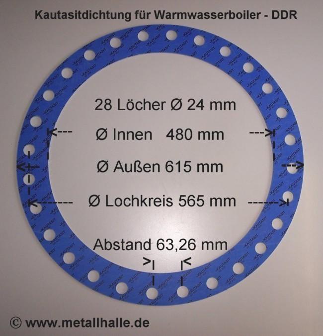 Flachdichtung nach Maß für Warmwasserboiler bei Eisenmax kaufen.